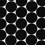 DORO Popeline Dots schwarz weiß