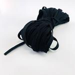 20 Meter Gummilitze Breite 5mm schwarz
