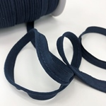 Velours-Paspel navy