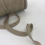 Velours-Paspel beige