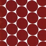DORO Popeline Dots terrakotta weiß