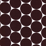DORO Popeline Dots bordeaux weiß