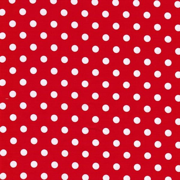 JUDITH Punkte rot weiß