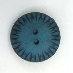 StrukturKnopf 2-Loch 23 mm petrol