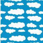 Swafing VICENTE Wolken türkis