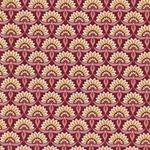 EMILIE Popeline Blütenfächer marsala