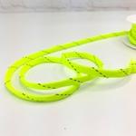 Flechttresse 8 mm Neon gelb