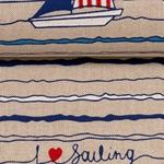 EMILIA Canvas Segelboote natur