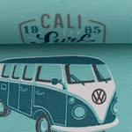 WOLFSBURG Canvas Surf-Bulli mint