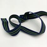elast. Einfassband Neon 20 mm grün