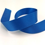 Gurtband Polyester 25 mm glänzend blau