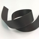 Gurtband Polyester 25 mm glänzend anthra