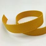 Gurtband 25 mm senf
