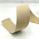 stabiles Gurtband 40 mm natur