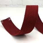 stabiles Gurtband 40 mm bordeaux