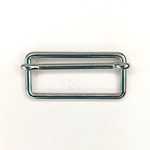 Metallschließe Versteller silber 40 mm