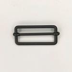 Metallschließe Versteller schwarz 40 mm