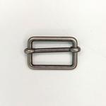 Metallschließe Versteller altsilbe 25 mm