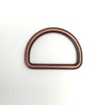 Metall D-Ring 25 mm altkupfer