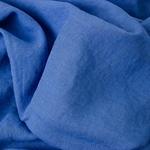 1,5m Rest DAMIEL Leinen kornblumenblau