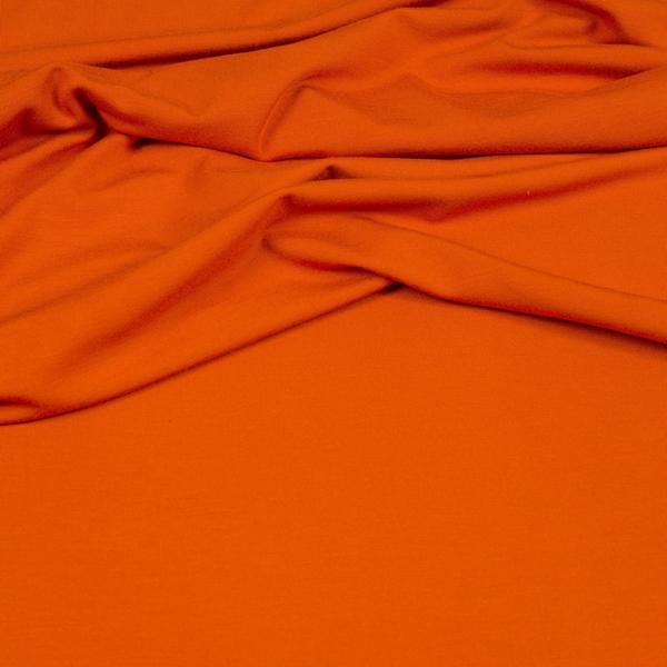 VI-EL-JERSEY Viskosejersey orange