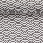 KURT Webware Fächer grau weiß
