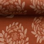 JESSE Jersey Blüten terrakotta