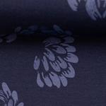 JESSE Jersey Blüten dunkelblau