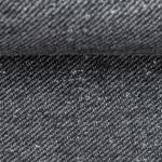 PIET Sweat mit Fleeceabseite schwarz