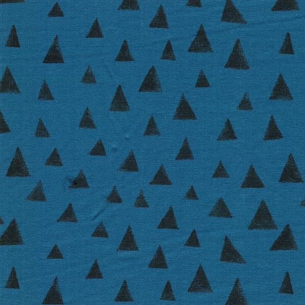 BEARY SWEAT Dreiecke dunkles türkis