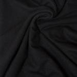 CLICK UNI Viskose-Feinstrick schwarz