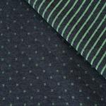 QUILT-LIN Doubleface Steppsweat smaragd