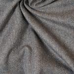 CADENCE Tweed Fischgrat braun aqua