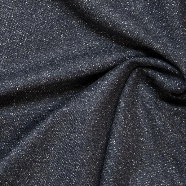 CARDIFF Tweed Salz&Pfeffer dunkelblau
