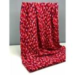 0,7m Reststück Viskose bordeaux rot rosa