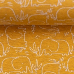 BENNO Jersey Melange Elefanten mango