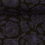 GRACE by Jolijou Jacquard schwarz violet