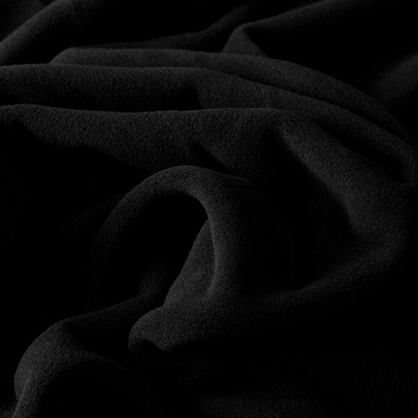 SARNEN Thermo-Micro-Fleece schwarz