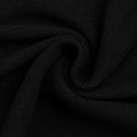 BONO Baumwollstrick schwarz