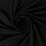0,90m Rest GINZA Viskosejersey schwarz
