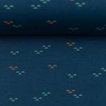BUENO Interlock-Jersey Dreiecke blaupetr