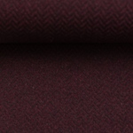 DIEGO Tweed Fischgrat bordeaux