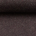 DIEGO Tweed Fischgrat bordeaux grau
