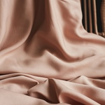 VISCOSE TWILL solid rose