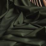 VISCOSE TWILL solid khaki