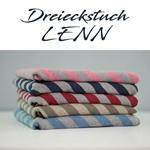 DreieckstuchLENN 210 x150 x150 cm