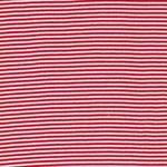 ANDRE Ringelbündchen 500g/m² rot weiß
