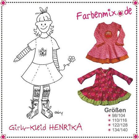 Farbenmix Schnittmuster HENRIKA
