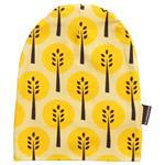 Maxomorra Jersey-Beanie Trees gelb