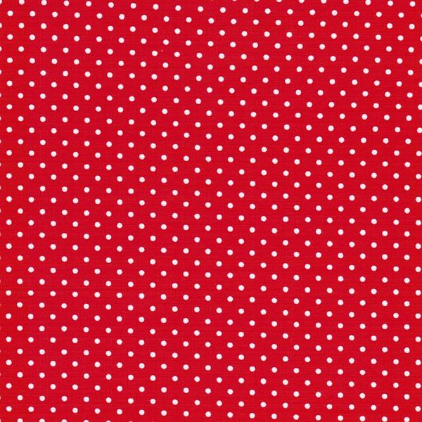 VERENA Jersey Punkte rot